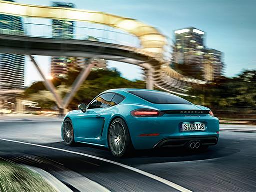 Exklusives Leasingangebot für gewerbliche Kunden: Porsche 718 Cayman S